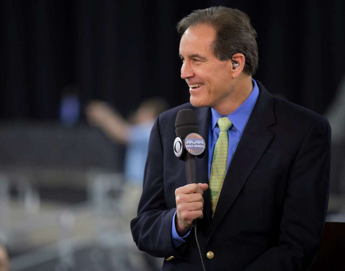 Following the South Regional at NRG Stadium for CBS, Jim Nantz will call his 25th Final Four next weekend.