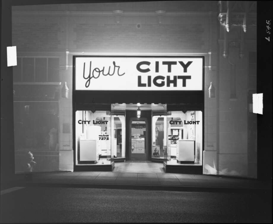 A Seattle City Light Store In The University District, Pictured In 1940.  Photo: