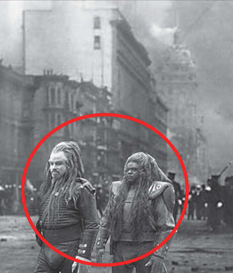 "Alien ""Friscans"" destroyed the city in 1906. Photo: Don Asmussen"