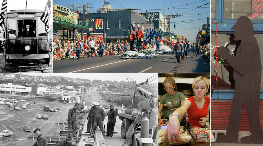Click through for a look at Seattle's University District's past and present.