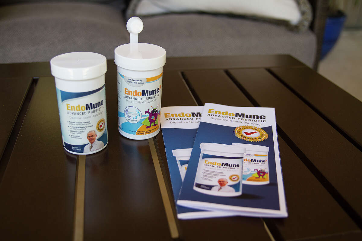 EndoMune Advanced Probiotic was developed by San Antonio gastroenterologist and internist Lawrence Hoberman to help people with digestive issues. The product for adults is a capsule and the children's version is in a powder form. A chewable verson for children will be available in approximately two months.