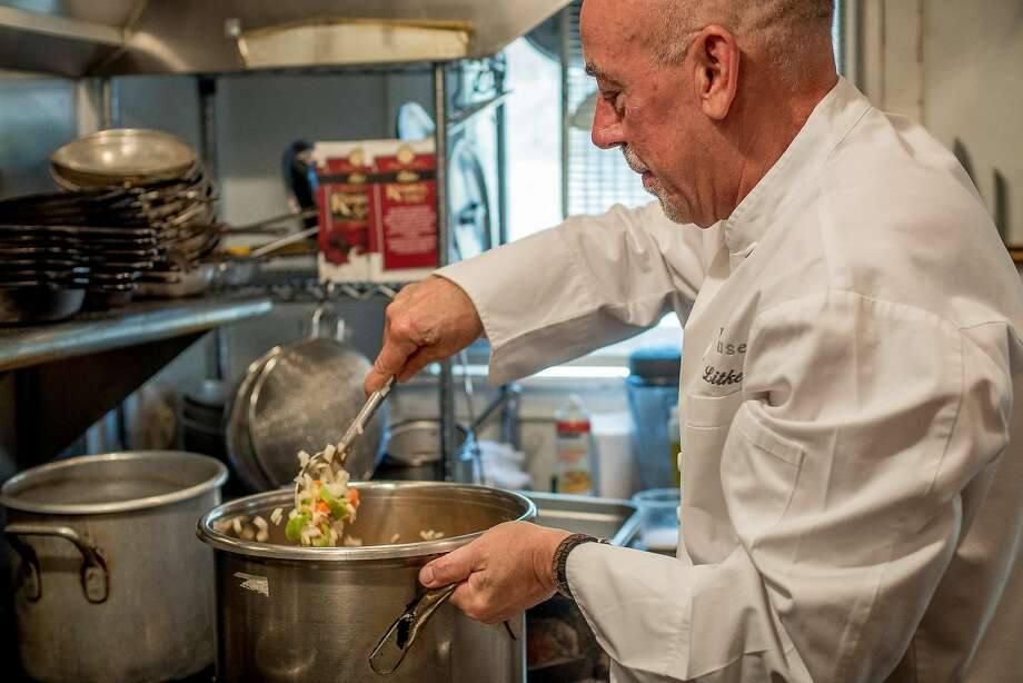 Chef Steve Litke of the Farmhouse Inn and Restaurant in Forestville. Photo: John Storey, Special To The Chronicle