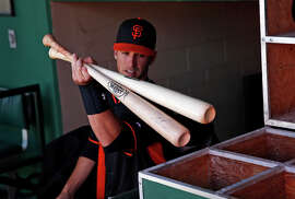 Giants catcher Busty Posey says he, like many players, prefers maple to ash for his bats because of the hardness of the wood.
