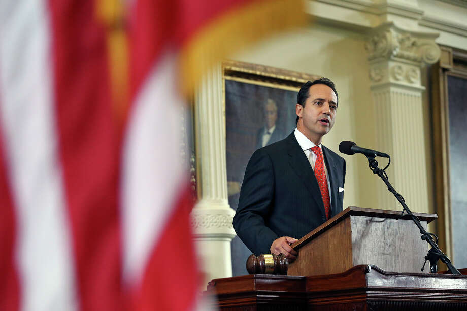Jose Menendez speaks during a special swearing in at the Capitol in Austin on March 4. A reader disagrees with a push by the senator to use Rainy Day funds to renovate the Alamo. Photo: Tom Reel /San Antonio Express-News