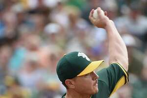 A's Scott Kazmir breezes through another spring outing - Photo