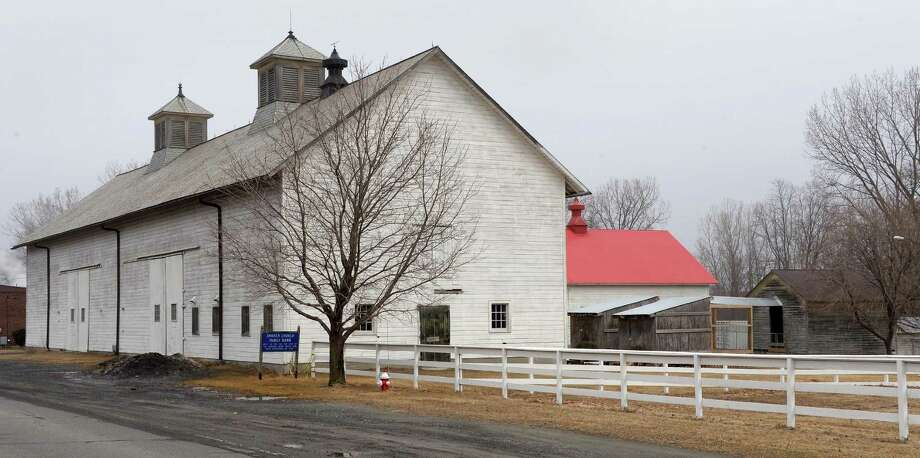 1915 Shaker Barn Complex at the Shaker Historical Society in Colonie, N.Y, Thursday, March 26, 2015.  (John Carl D'Annibale / Times Union) Photo: John Carl D'Annibale / 00031173A