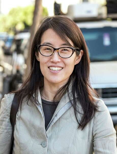 Ellen Pao sued her Silicon Valley venture capital employer for gender discrimination. As evidence, she cited a partner's referring to a porn star on a private jet. Photo: David Paul Morris /Bloomberg / © 2015 Bloomberg Finance LP