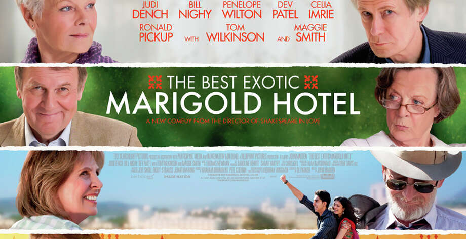 """ìThe Second Best Exotic Marigold Hotel"""" is a sequel to the popular 2012 movie, ìThe Best Exotic Marigold Hotel."""" Photo: Contributed Photo / Westport News"""