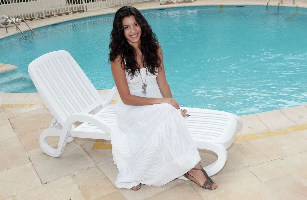 Actress Stephanie Sigman of the film