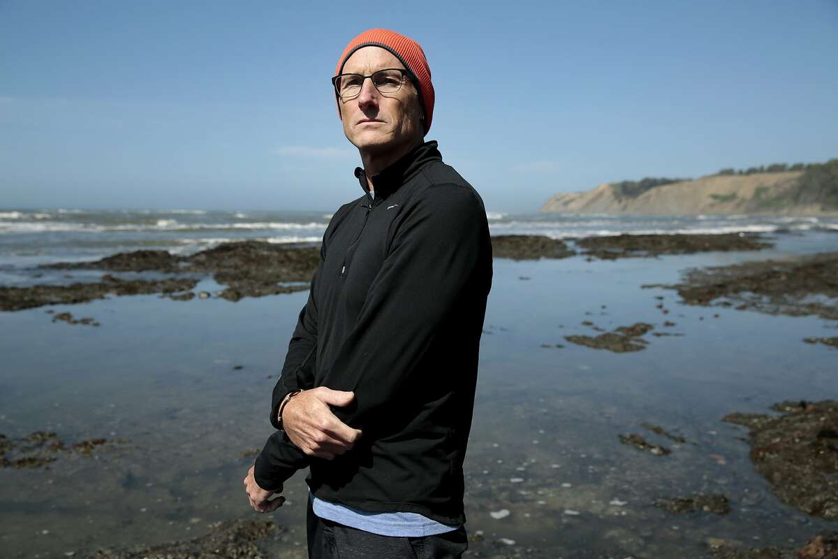 Dr. Daniel Swangard, an anesthesiologist at California Pacific Medical Center in San Francisco, poses for a portrait at a beach near his home in Bolinas, California, Sunday, March 29, 2015. Dr. Swangard is in remission from neuroendocrine pancreatic cancer and has recently joined a death with dignity lawsuit against California. Ramin Rahimian/Special to The Chronicle