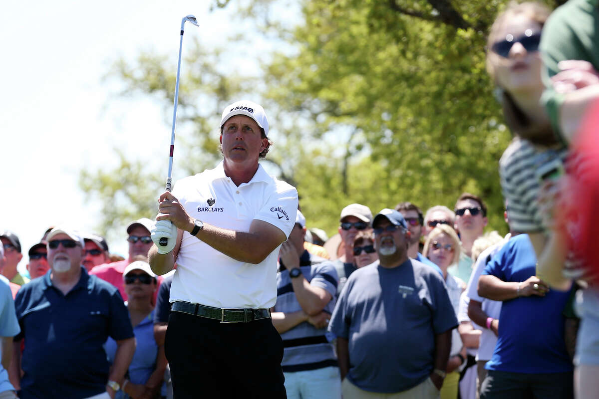 Phil Mickelson, ranked 19th in the world, is back in San Antonio at the Valero Texas Open in 2016.