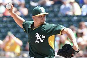 Kendall Graveman has another terrific outing for A's - Photo