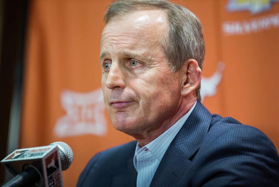 Fired coach Rick Barnes brought Texas basketball to the forefront but then watched it slide back into mediocrity. Photo: RICARDO B. BRAZZIELL, MBO / Austin American-statesman