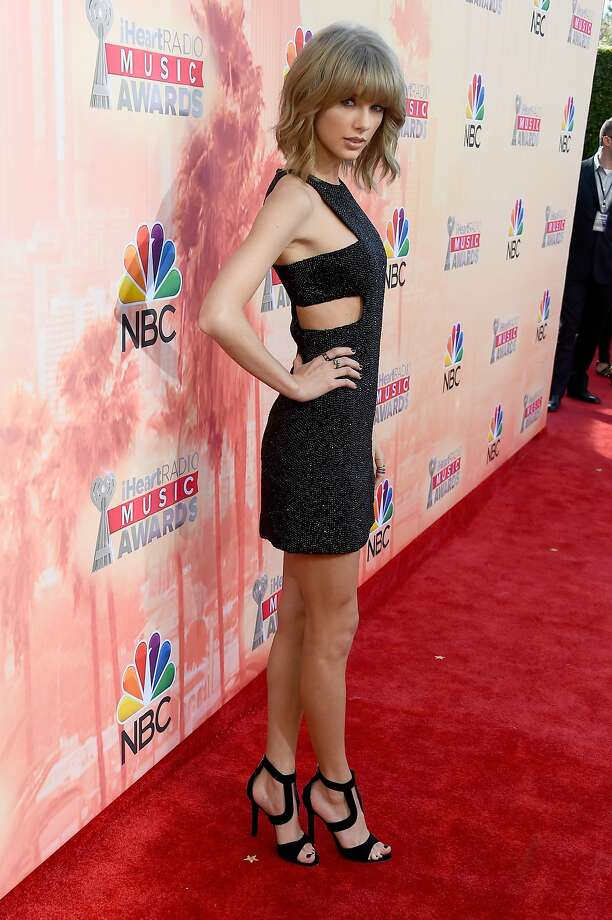 LOS ANGELES, CA - MARCH 29:  Singer Taylor Swift attends the 2015 iHeartRadio Music Awards which broadcasted live on NBC from The Shrine Auditorium on March 29, 2015 in Los Angeles, California.  (Photo by Frazer Harrison/Getty Images for iHeartMedia) Photo: Frazer Harrison, Getty Images For IHeartMedia