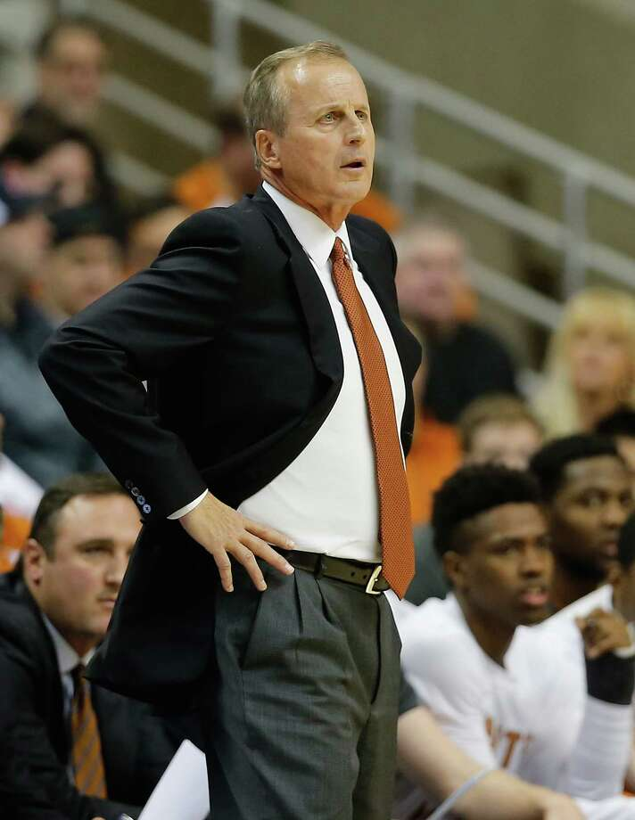 FILE - MARCH 28, 2015: According to reports, after 17 season and 402 games won, Rick Barnes has been released as the coach of the Texas Longhorns. STORRS, CT- NOVEMBER 30:  Head coach Rick Barnes of the Texas Longhorns watches the action in the first half against the Connecticut Huskies  at Harry A. Gampel Pavilion on November 30, 2014 in Storrs, Connecticut. (Photo by Jim Rogash/Getty Images) Photo: Jim Rogash, Stringer / 2014 Getty Images