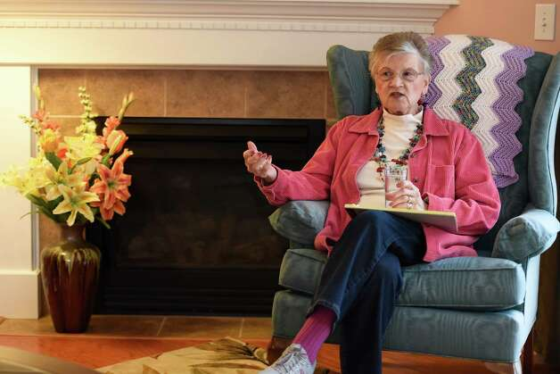 Linda Waddington talks to the Times Union about her husband Friday morning March 27, 2015 at her home in Rotterdam, N.Y.    (Skip Dickstein/Times Union) Photo: SKIP DICKSTEIN / 00030988A