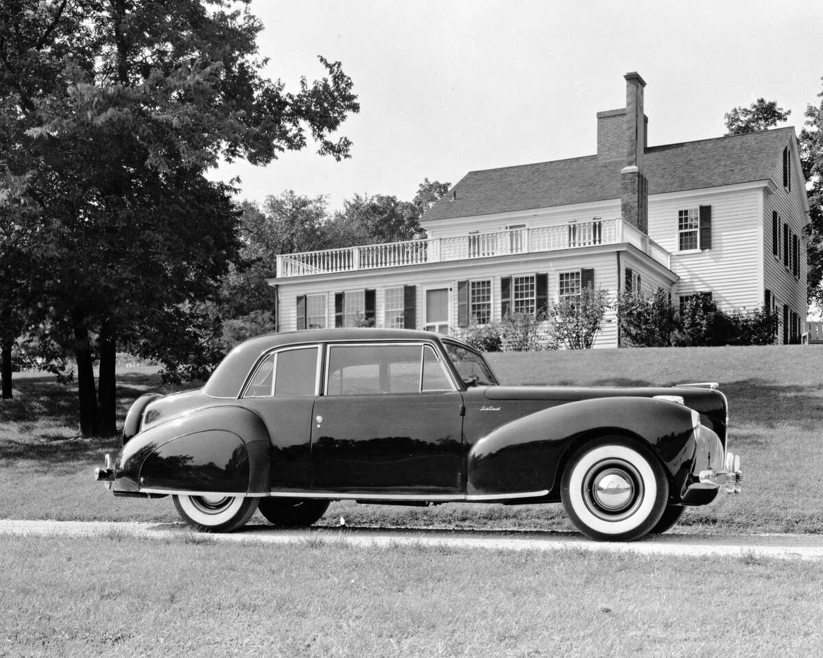 This undated photo provided by the Ford Motor Co. shows the 1941 Lincoln Continental. Thirteen years after the last Continental rolled off a Michigan assembly line, Ford Motor Co. is debuting the new Continental in concept form at the New York Auto Show on Monday, March 30, 2015. The production version goes on sale next year.