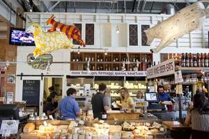 Instead of going to Dean & Deluca, which is a fun spot for visitors but can get very crowded, head to Napa's Oxbow Market, which has many home-grown options for eating, drinking and gift buying.