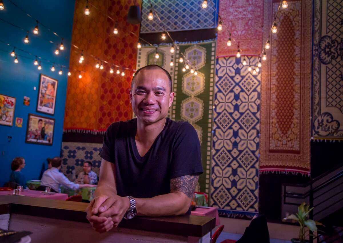 Chef James Syhabout at Hawker Fare in San Francisc