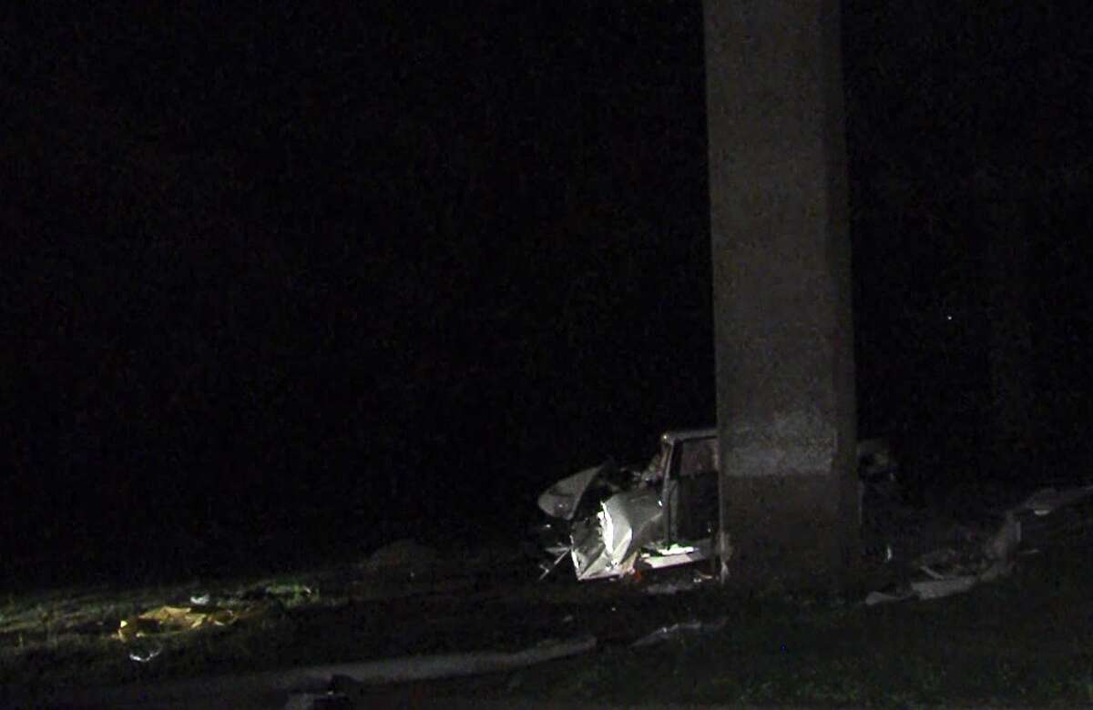 A man died Monday morning after a crash on the North Side.