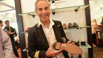 Shoe designer Donald J. Pliner will meet the public Friday in the women's shoe department at Dillard's North Star Mall.