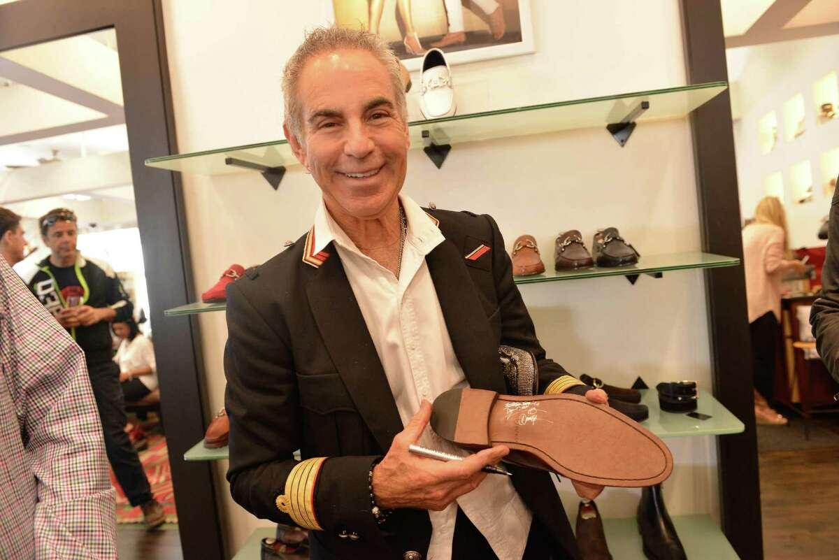 Shoe designer Donald J. Pliner will meet the public Friday at Dillard's North Star Mall.