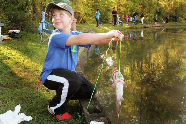 Scenes from the Creekwood Fishing Derby - HoustonChronicle com