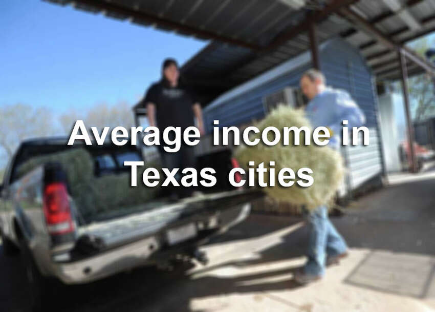 Click through to see how much people are making in cities across Texas.