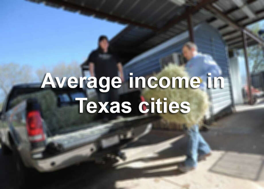 Click through to see how much people are making in cities across Texas. Photo: Nellie Doneva, SAEN / Abilene Reporter-News