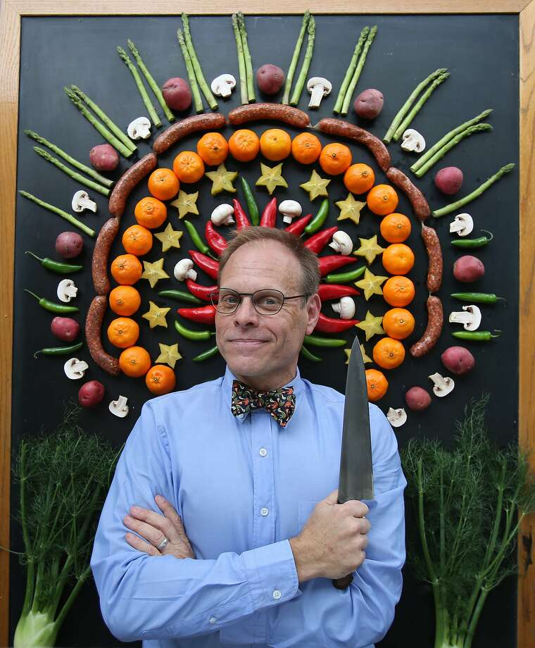 TV food celebrity Alton Brown is bringing a live show that includes music to theTobin Center for the Performing Arts tonight. Photo: Contributed Photo