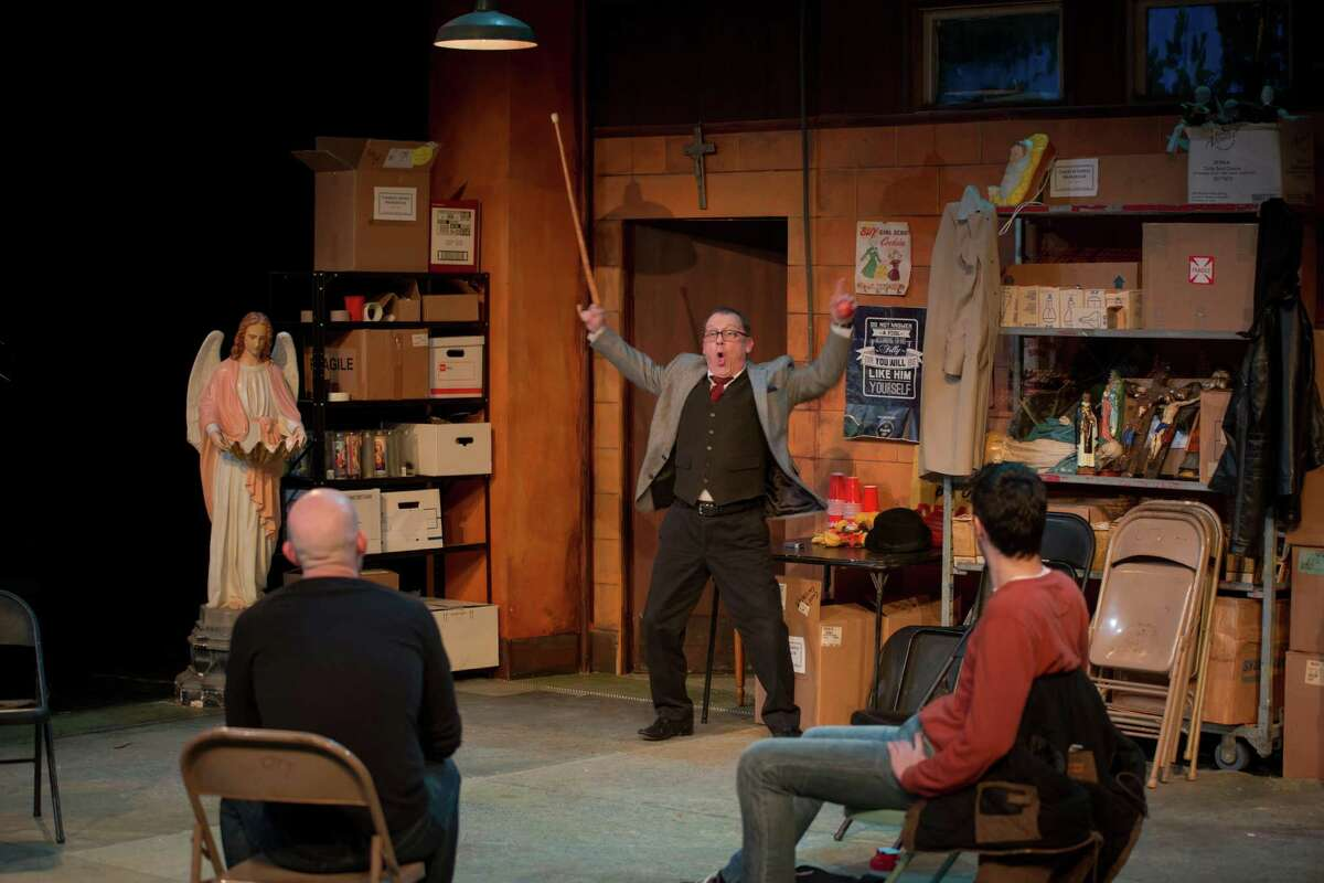 Tyler Keyes, Lawrence Coop and Alejandro Cardona star in AtticRep's staging of