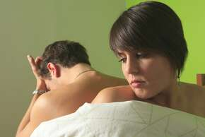Couple on Bed - Mental Disorder