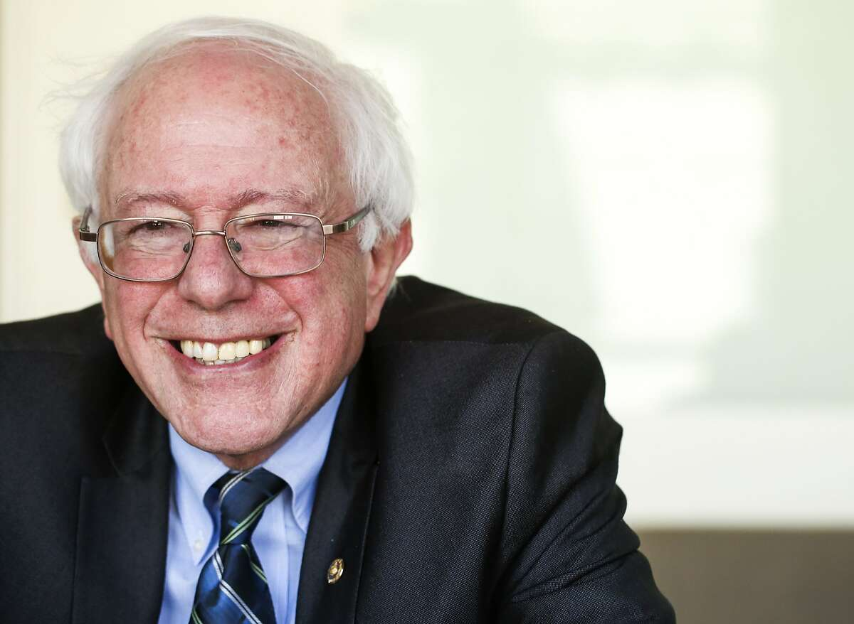 United States Senator Bernie Sanders of Vermont is seen on Monday, March 30, 2015 in San Francisco, Calif.