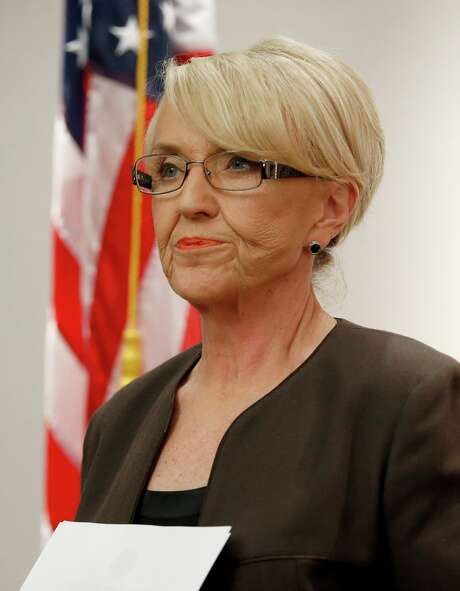 Arizona Gov. Jan Brewer vetoed a bill supporting people who refuse to do business with gays. Photo: Ross D. Franklin / Associated Press / AP