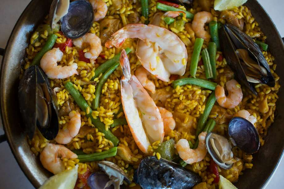 This is the Paella a La Valencia photographed at Zarzuela in San Francisco Calif., Wednesday March 25, 2015. Photo: Randi Lynn Beach, Special To The Chronicle