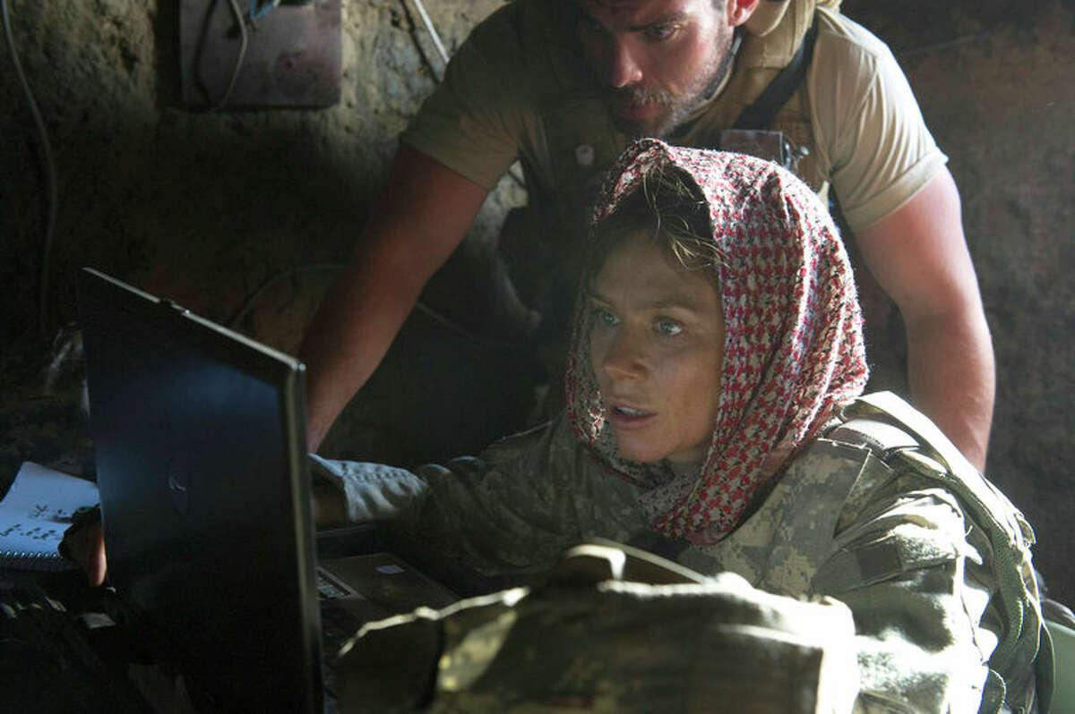 AMERICAN ODYSSEY -- Pilot -- Pictured: Anna Friel as Sgt. Odelle Ballard -- (Photo by: Virginia Sherwood/NBC)