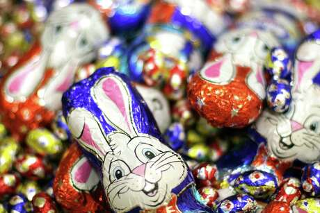 (AUSTRALIA & NEW ZEALAND OUT) Pictured at the Kenman factory was an assortment of Easter chocolates. 22 March 2004. THE AGE Picture by MELANIE FAITH DOVE