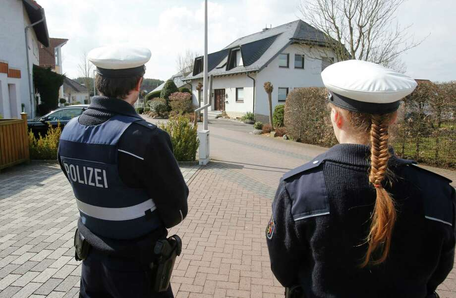 Evidence gathered at Germanwings co-pilot Andreas Lubitz's apartment and his parents' home in Montabaur, Germany, (above) is still being analyzed. Photo: Michael Probst, STF / AP