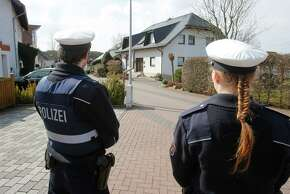 Evidence gathered at Germanwings co-pilot Andreas Lubitz's apartment and his parents' home in Montabaur, Germany, (above) is still being analyzed.