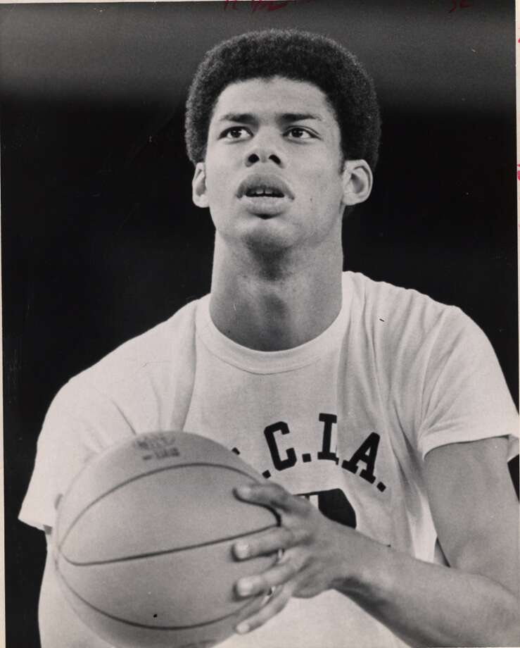 Lew Alcindor, UCLAThe man who later became known as Kareem Abdul-Jabbar led the Bruins to three straight NCAA titles and was the Most Outstanding Player in all three Final Fours. Why not four? Because freshmen weren't eligible to compete back then. Alcindor averaged 25.7 points and 18.8 rebounds in six final four games. The NCAA also banned the dunk in 1967 in part because of Alcindor's dominance. Abdul-Jabbar went on to win six NBA championships and is the leading scorer in NBA history. Photo: Darrell Davidson, ©Houston Chronicle