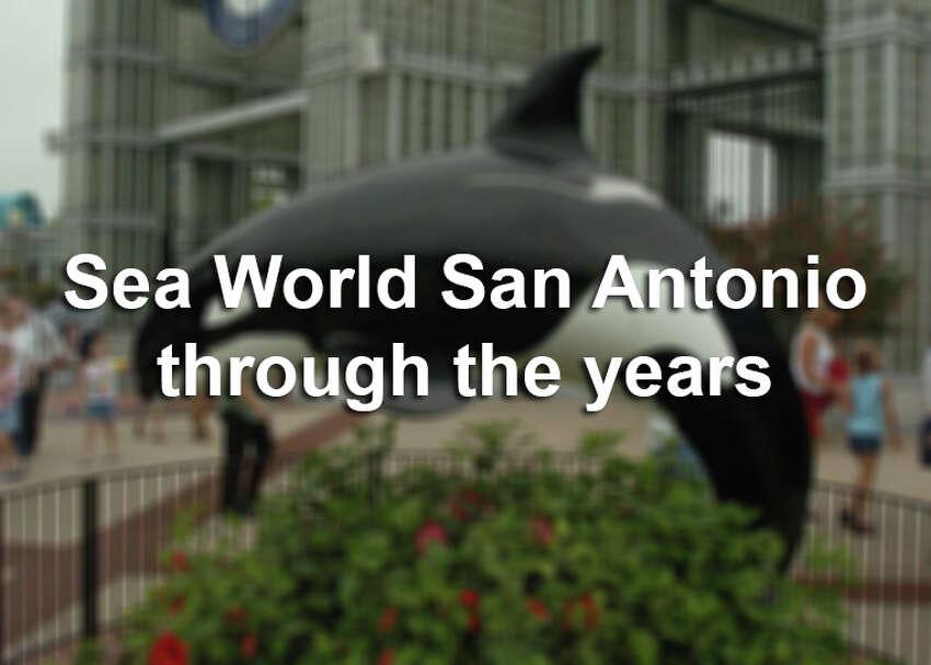 Sea World San Antonio, through the years