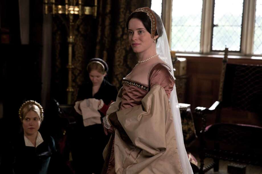 "Claire Foy is Anne Bol eyn in PBS' ""Wolf Hall."" Photo: Giles Keyte/Playground & Company / Giles Keyte / Playground & Co. / ONLINE_YES"