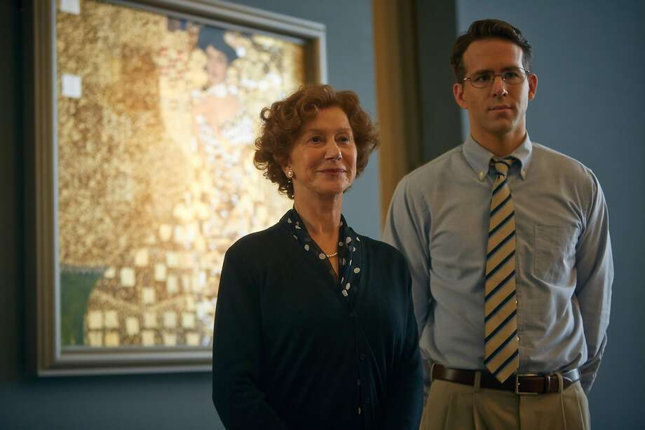 "Helen Mirren and Ryan Reynolds star in ""Woman in Gold."" (The Weinstein Company) Photo: Robert Viglasky, McClatchy-Tribune News Service"
