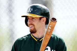 Outfielder Billy Burns tops all players in spring training in hits (27) and runs (20).