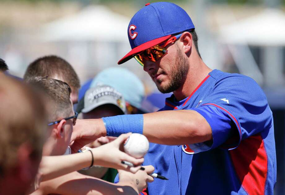 Cubs rookie Kris Bryant is headed for the minors despite hitting nine homers in spring ball. Photo: Lenny Ignelzi, STF / AP