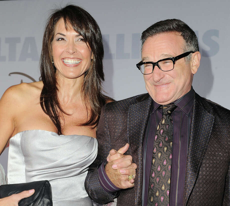 The adult children of Robin Williams are trying to resolve a legal dispute with his wife, Susan, over some of his memorabilia.  Photo: Katy Winn, FRE / WINNK