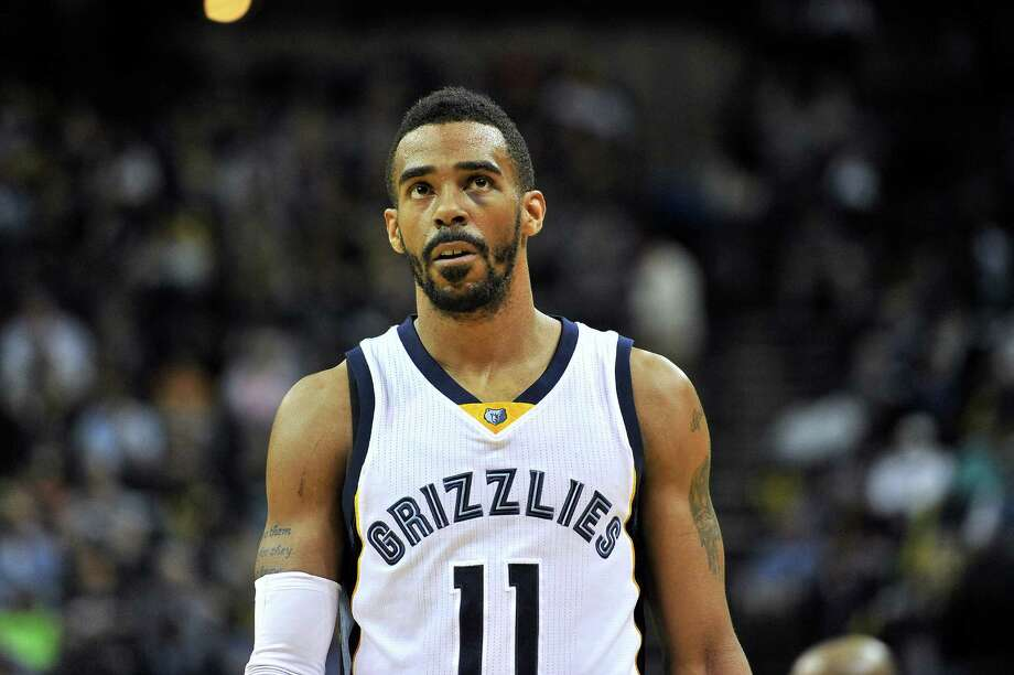 Memphis Grizzlies guard Mike Conley (11) plays in the first half of an NBA basketball game Tuesday, March 3, 2015, in Memphis, Tenn. (AP Photo/Brandon Dill) Photo: Brandon Dill, FRE / FR171250 AP