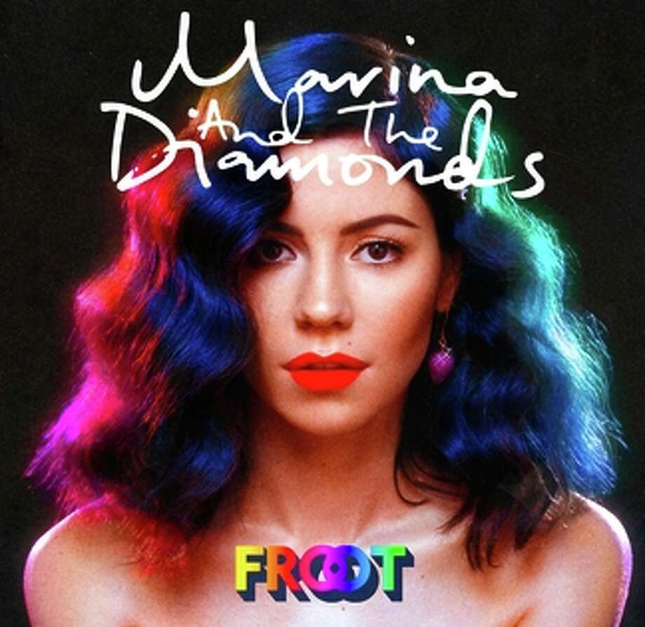 """Marina and the Diamonds' new release, """"Froot."""" Photo: Atlantic Records / ONLINE_YES"""