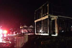4 homes under construction in Dublin destroyed by fire - Photo