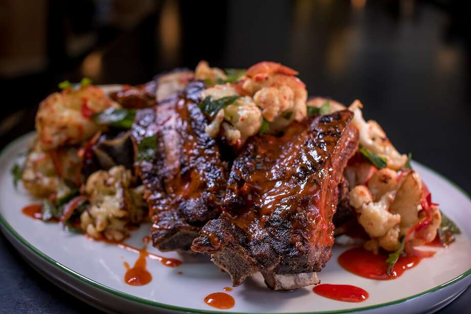 The Beef Ribs at Liholiho Yacht Club. Photo: John Storey, Special To The Chronicle